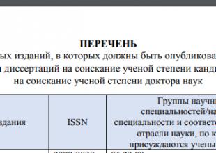 Thumbnail for the post titled: Опубликован Перечень журналов ВАК по состоянию на 30.11.2018 г.
